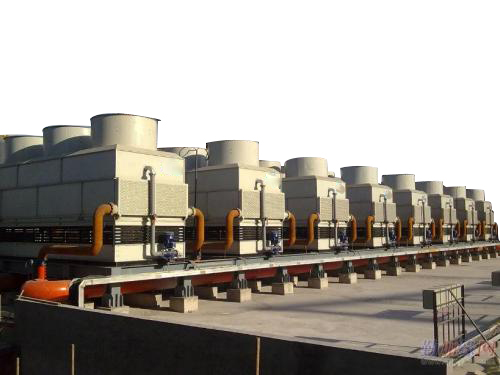 ICE Counter-flow Closed Circuit Cooling Tower system applied in steel factory