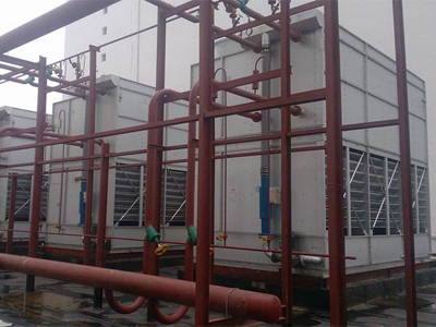 ICE High-efficiency Evaporative Condenser Application case E